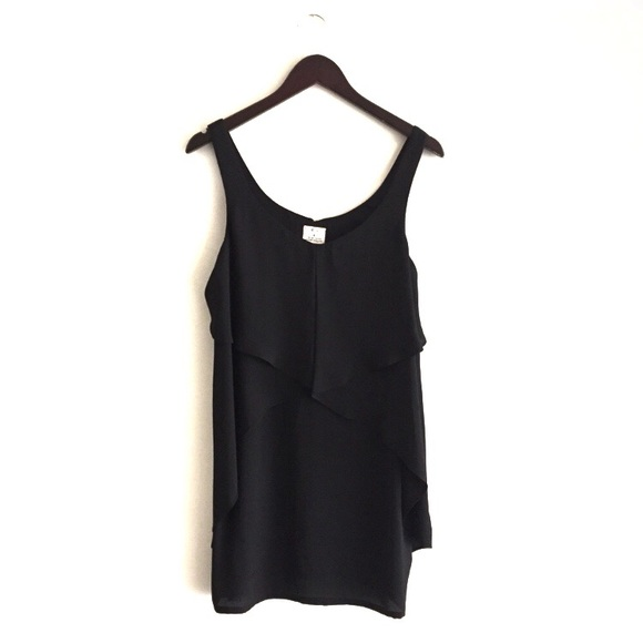 Urban Outfitters Dresses & Skirts - Urban Outfitters black flowy shift dress, M